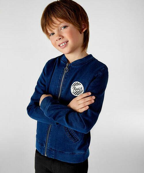 цена Джинсовая куртка для мальчиков онлайн в 2017 году