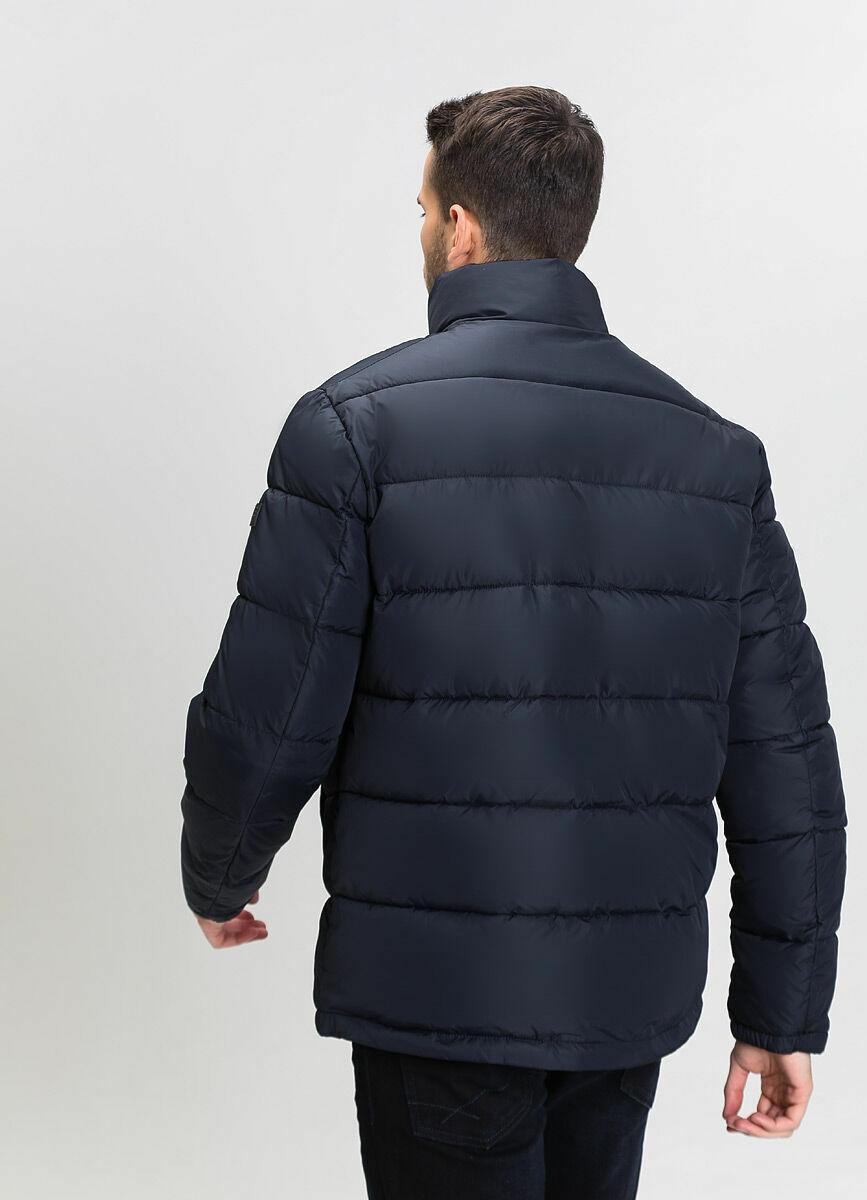 Утеплённая куртка с воротником-стойкой