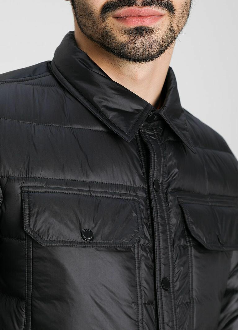 Стёганая куртка-рубашка