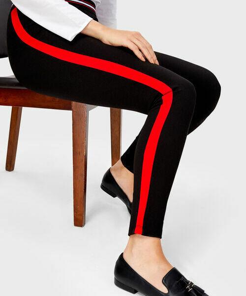 Фото - Трикотажные брюки с лампасами фото