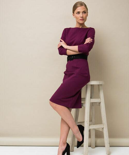 Фото - Кроёное платье-футляр фото