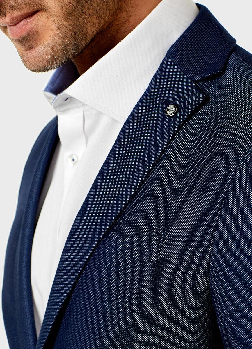 Пиджак из поливискозной структурной ткани
