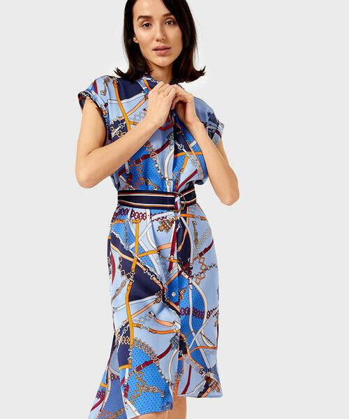Фото - Платье-рубашка с принтом фото