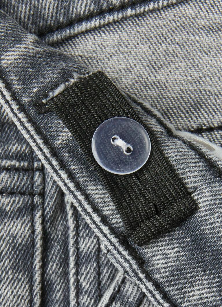 Серые джинсы для мальчиков Dad Fit