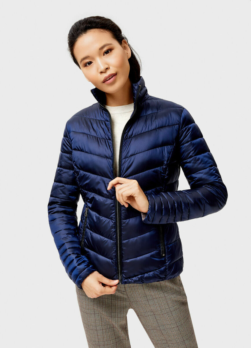 Ультралёгкая куртка с воротником-стойкой