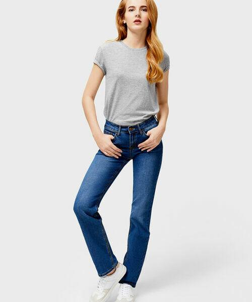 Фото - Базовые джинсы Straight Fit фото