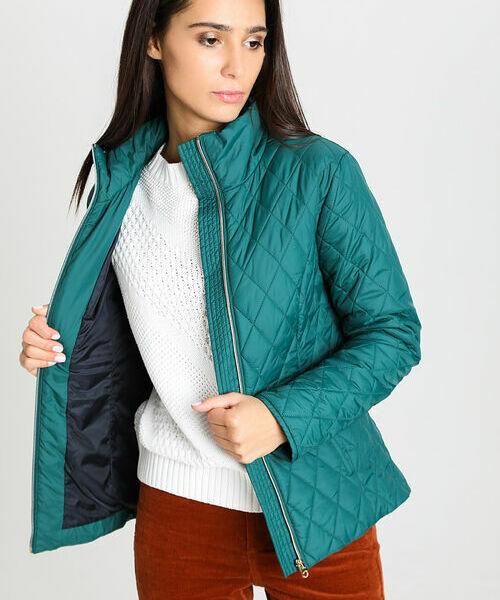цена Приталенная куртка с воротником-стойкой онлайн в 2017 году