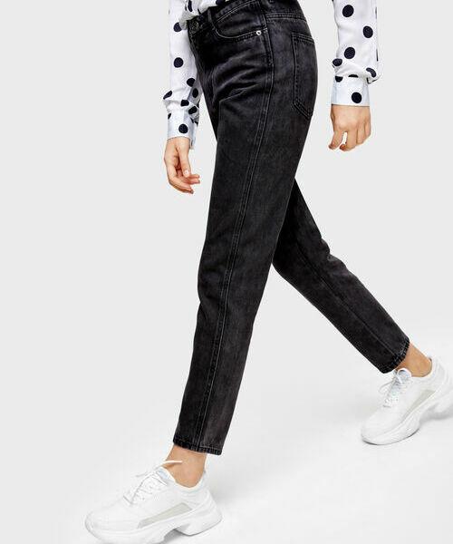 купить Прямые джинсы Мом Fit дешево