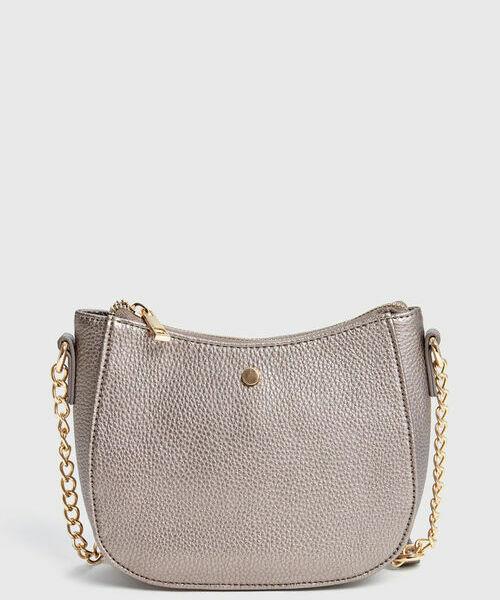 Небольшая сумка на плечевом ремне prada бежевая кожаная сумка на текстильном ремне