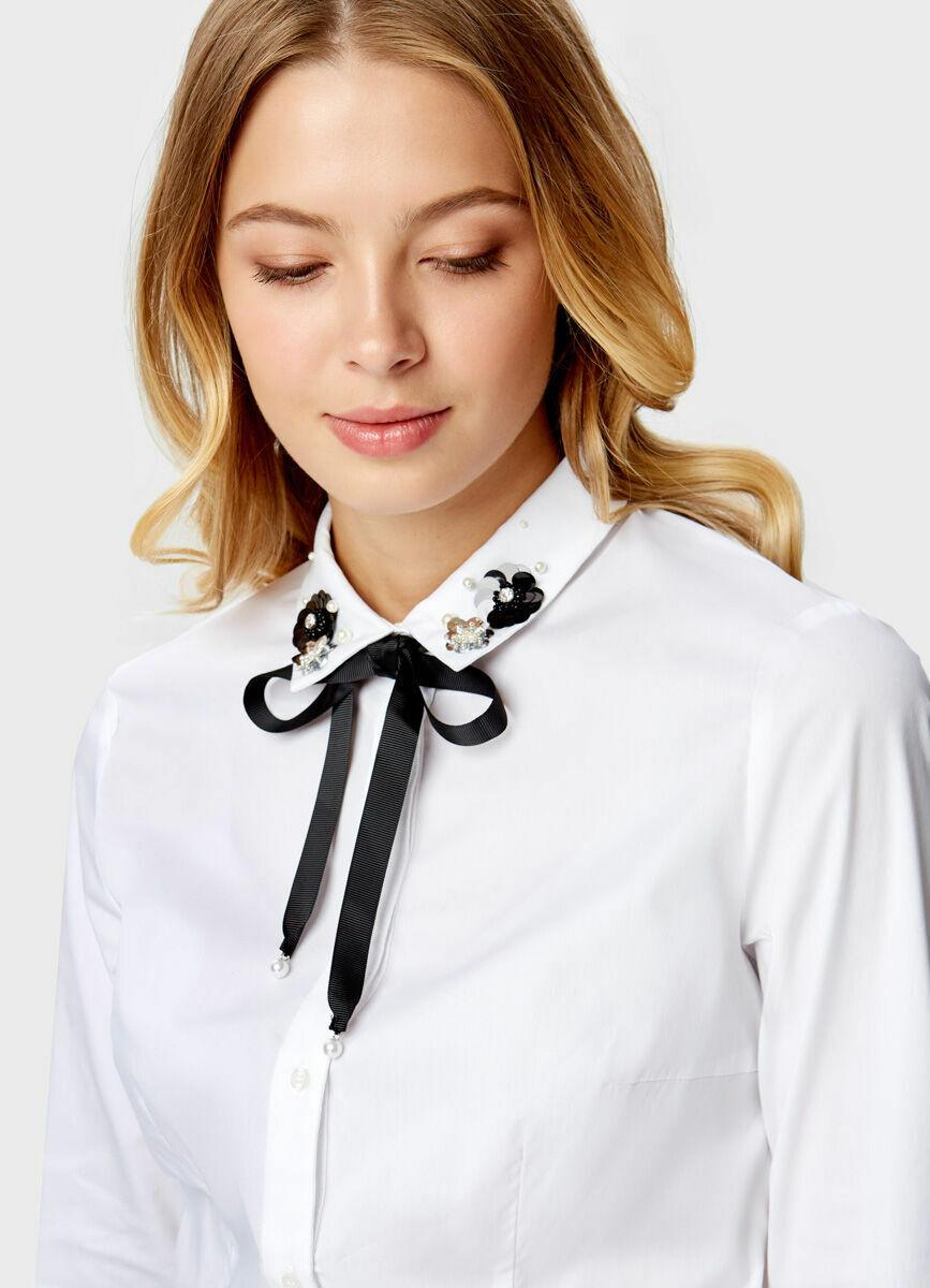 Рубашка с бантом