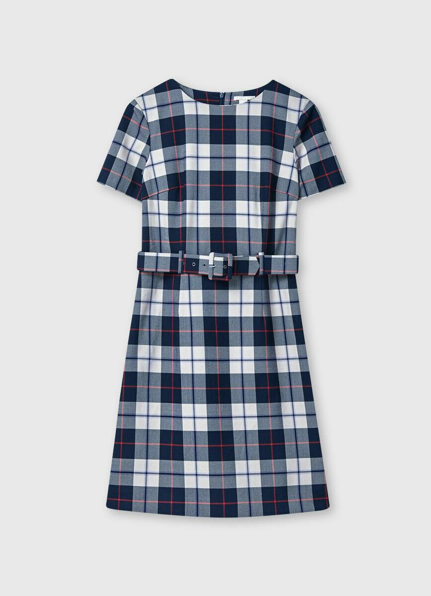 Прямое платье из поливизкозы