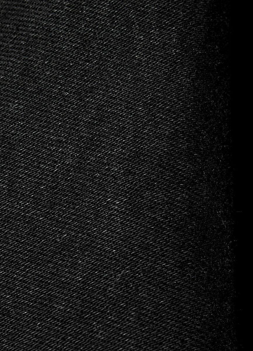 Чёрные суперузкие джинсы