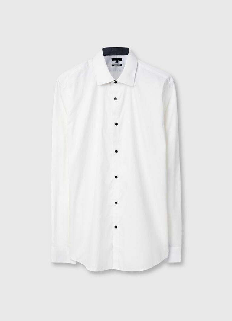 Рубашка из принтованной ткани