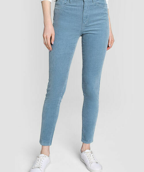 Вельветовые брюки «5 карманов» gucci розовые вельветовые брюки