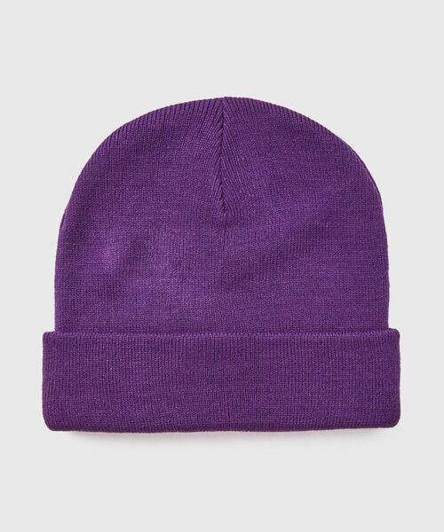 Купить со скидкой Базовая шапка с отворотом