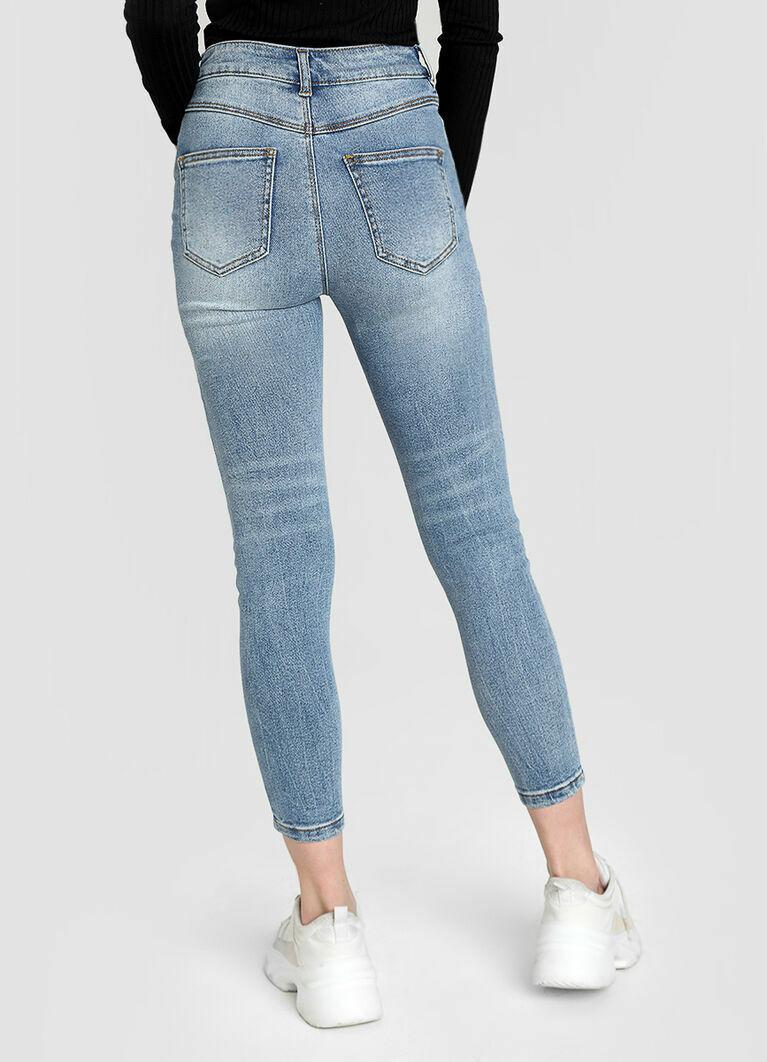 высокие джинсы купить в интернет магазине