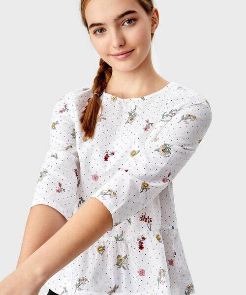 Фото - Принтованная блузка фото
