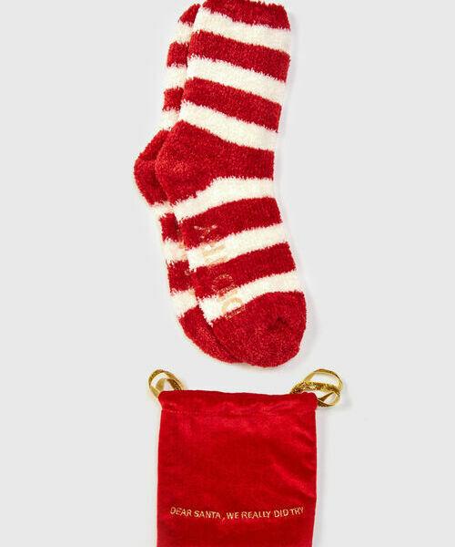 Домашние носки в мешочке