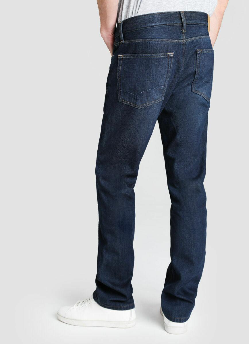 Утеплённые прямые джинсы
