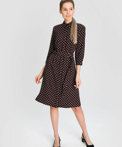 Фото - Платье-рубашка в микропринт рубашка greg greg mp002xm05sgb