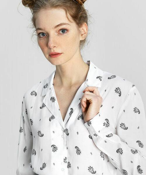 Фото - Рубашка в принт «огурцы с черепами» рубашка greg greg mp002xm05sgb