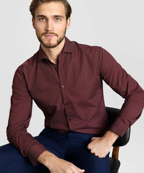 Фото - Рубашка с микропринтом рубашка greg greg mp002xm05sgb