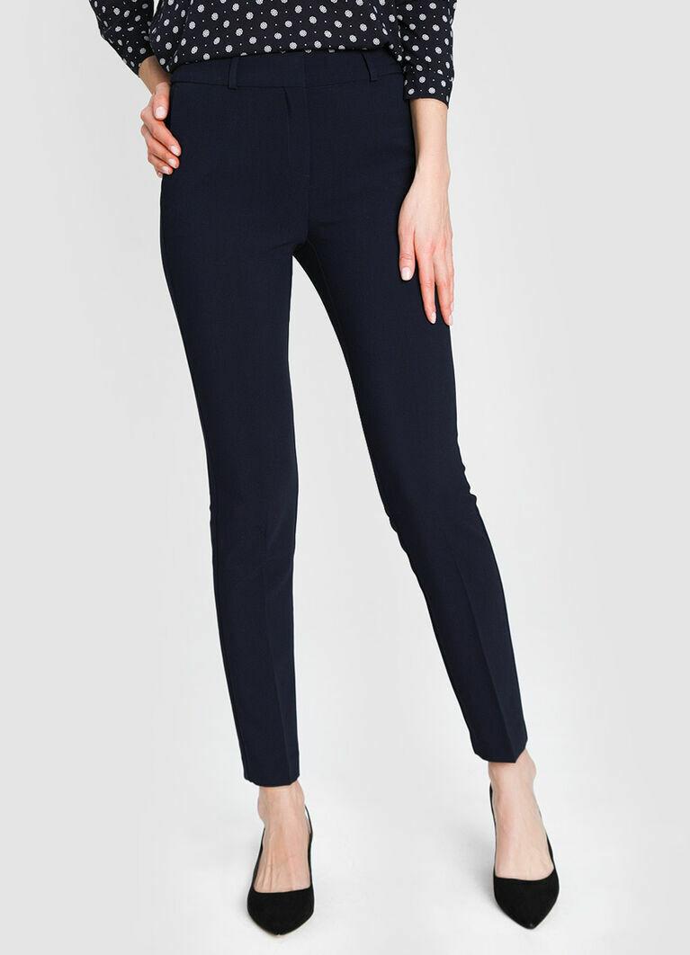 Прямые брюки из поливискозы