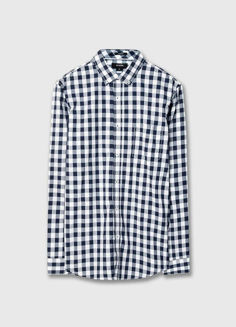 Рубашка в клетку Vichy