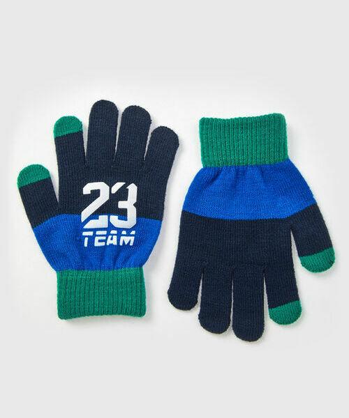 Перчатки для мальчиков gucci серые вязаные перчатки