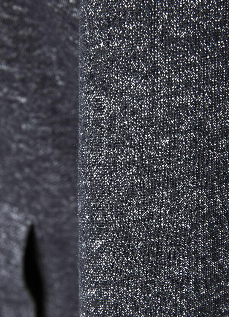 Толстовка с подкладкой из искусственного меха