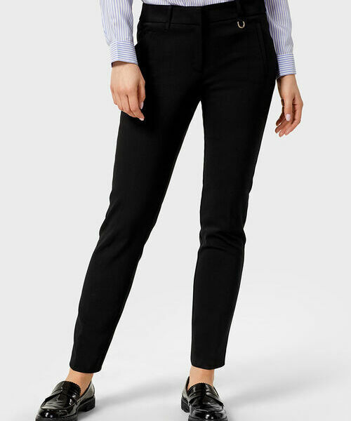 Фото - Хлопковые узкие брюки с эластаном фото