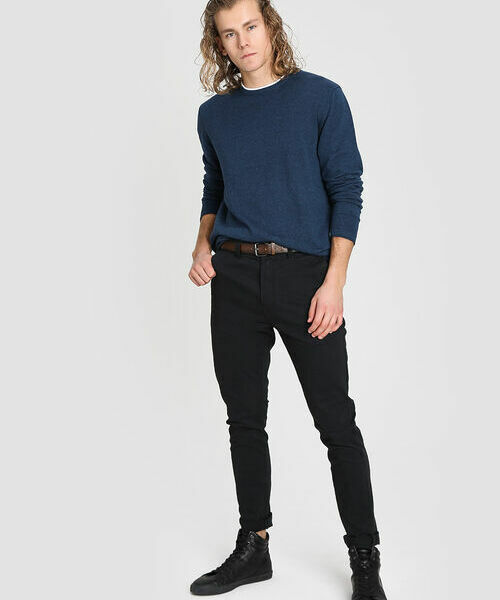 Брюки Chino Skinny с ремнём джинсы муж new albert chino gas