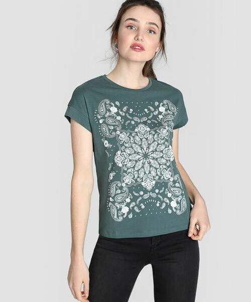 Купить со скидкой Принтованная футболка