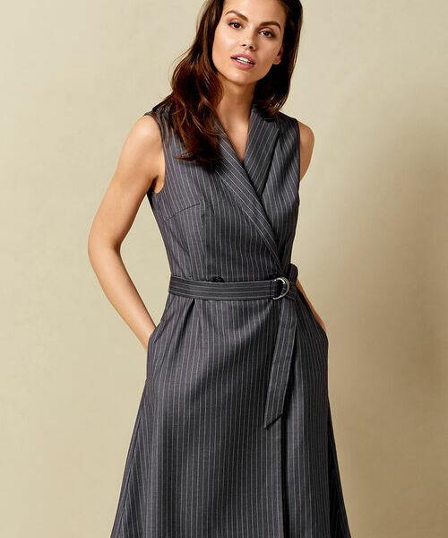 Фото - Платье с запахом из поливискозы фото