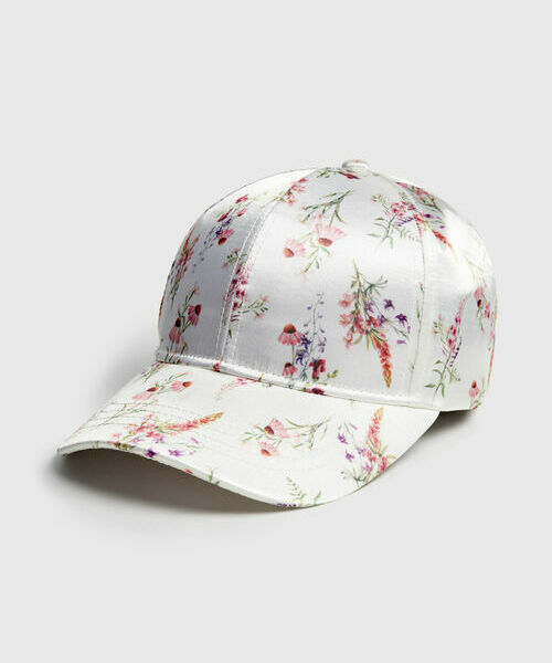 цена на Кепка с цветочным принтом