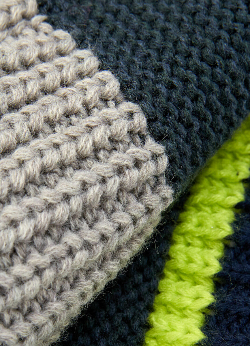 Вязаный шарф-гейтор для мальчиков