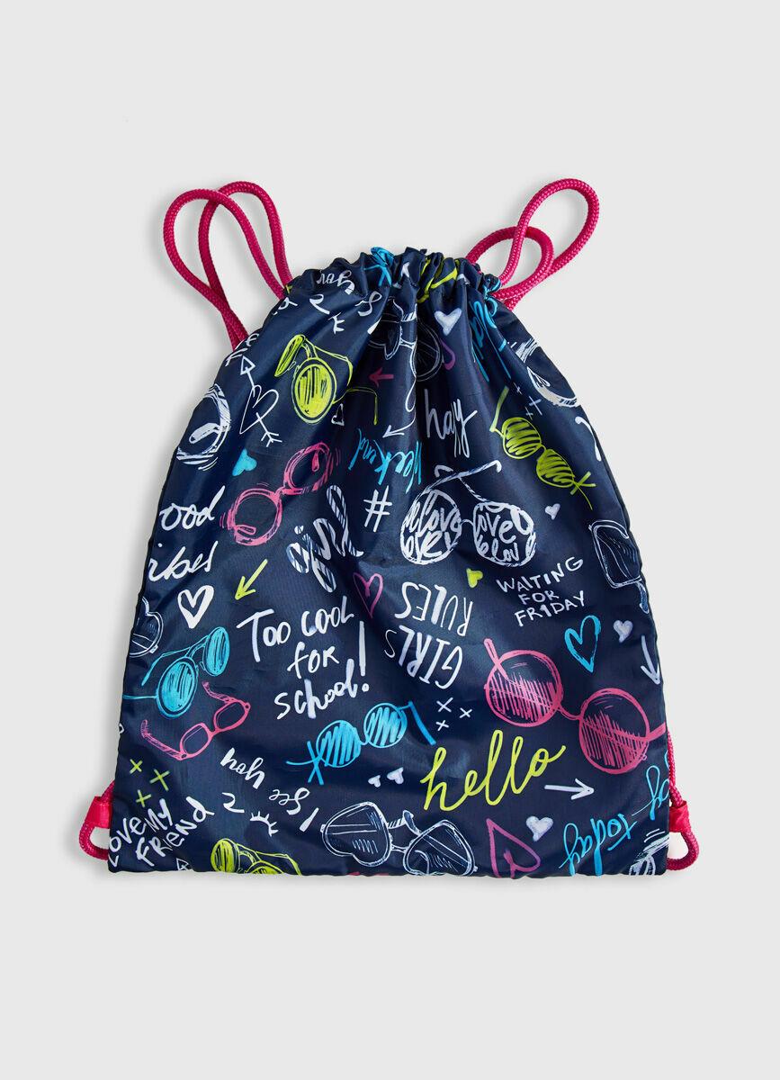 Мешок для обуви для девочек