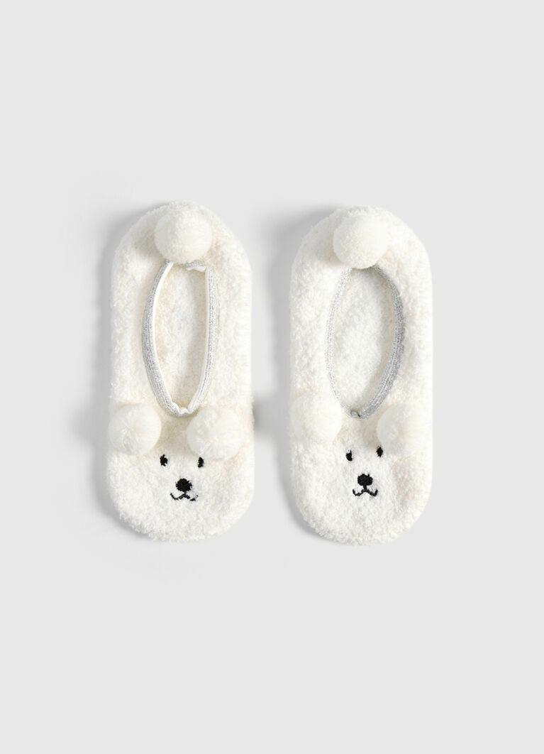 Короткие носки с медведями