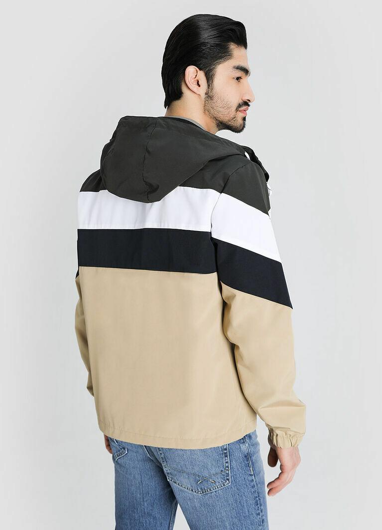 Куртка с цветовыми блоками