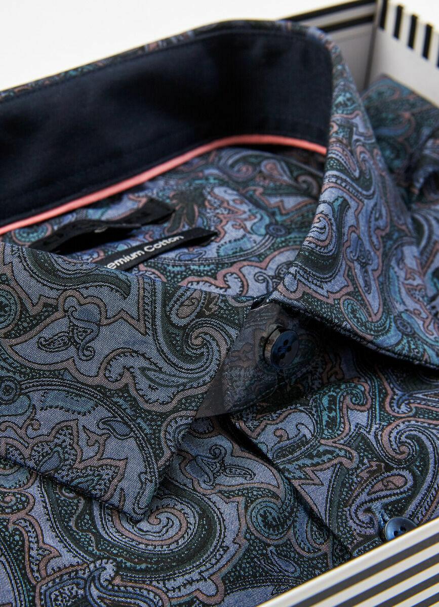 Рубашка с принтом пейсли в подарочной коробке