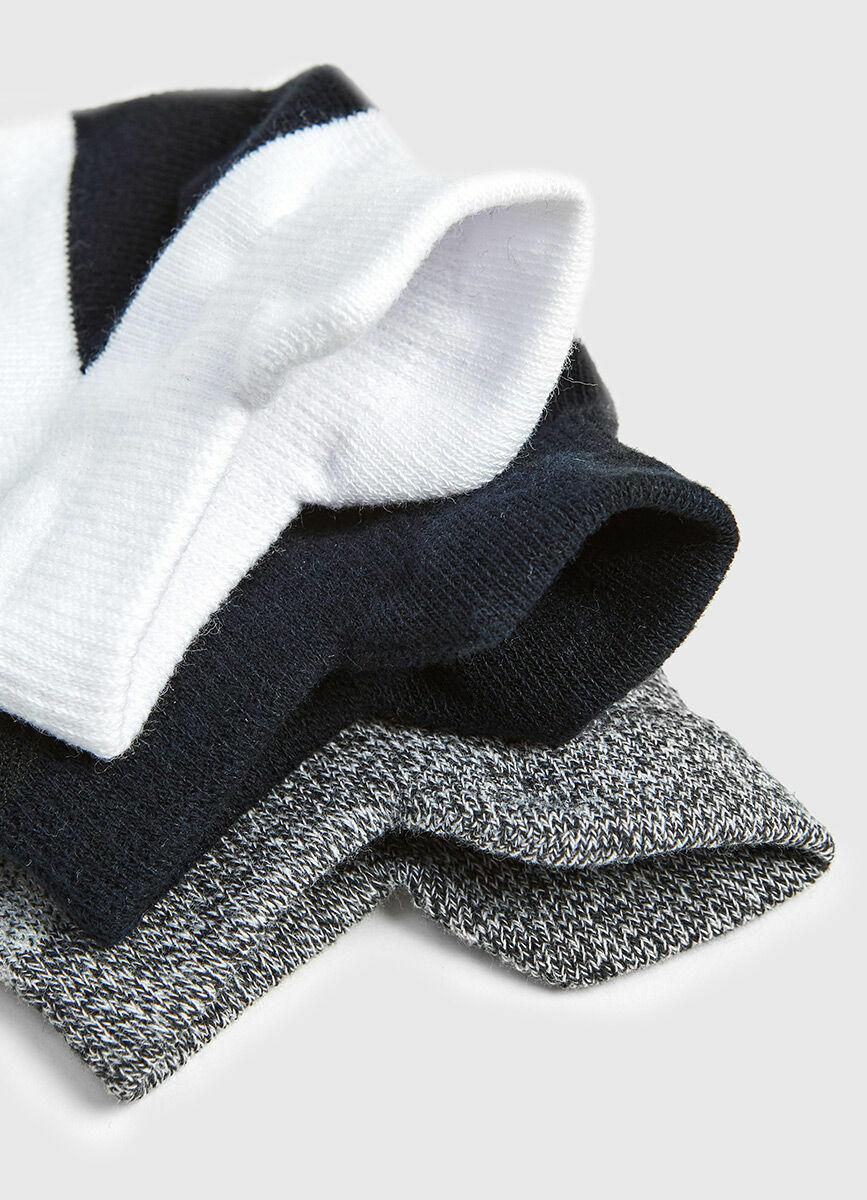 Комплект коротких носков для фитнеса
