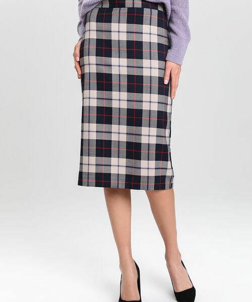 Прямая юбка в клетку цены онлайн