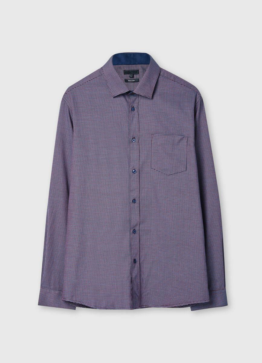 Рубашка в микролапку