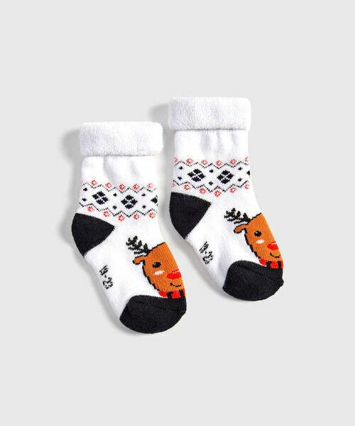 Новогодние носочки для мальчиков