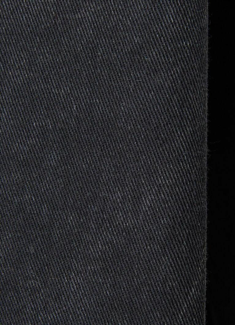 Рубашка из чёрного денима