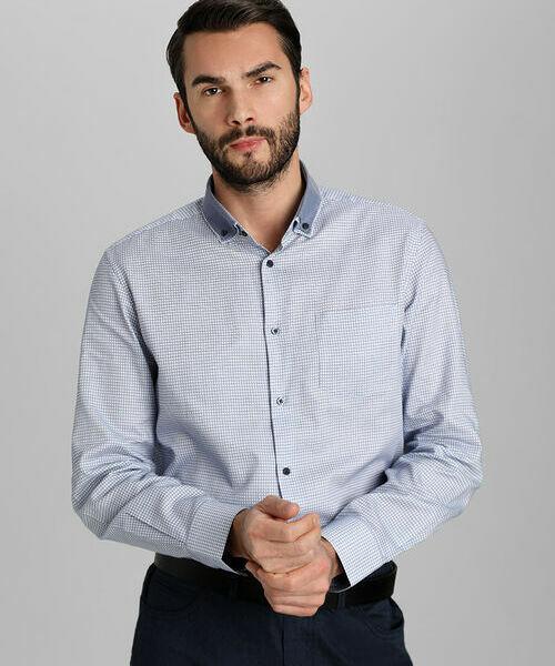 Фото - Рубашка в клетку рубашка greg greg mp002xm05sgb
