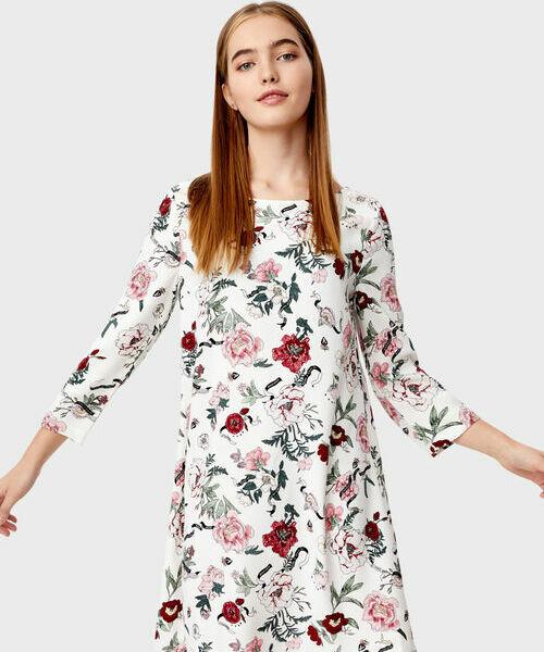 Фото - Платье в цветочный принт фото