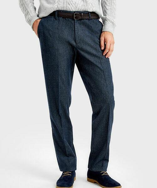 Фото - Утеплённые брюки-чиносы фото