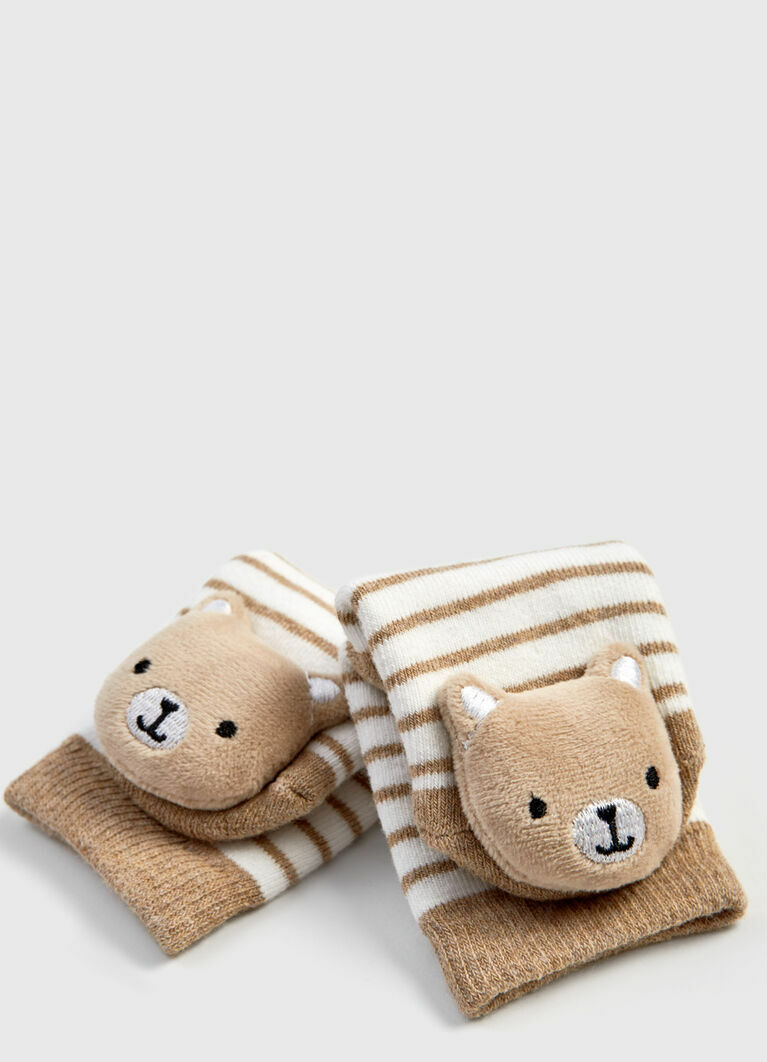 Носки с игрушкой для мальчиков