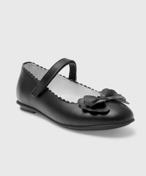Кожаные туфли для девочек туфли с прозрачным каблуком бренд